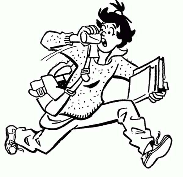Ethel Muggs is Getting Late for School in Archie Comics