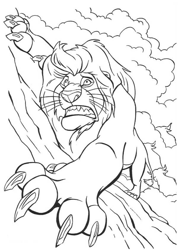 Mufasa Lion King Coloring Pages