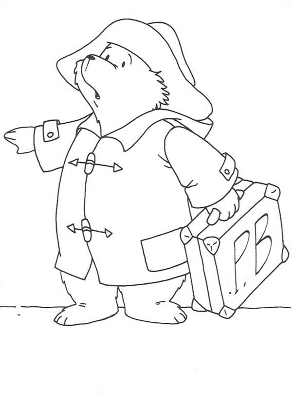 Bears Coloring Pages Vacation Coloring Pages
