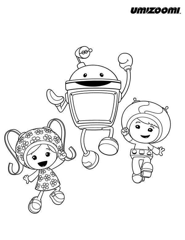 team crafted coloring pages