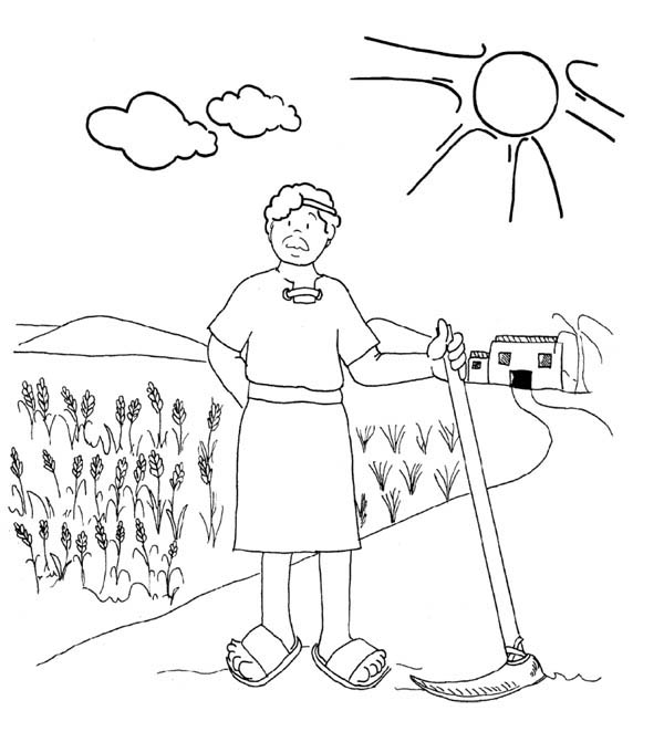 Coloring Parable Of Talents Coloring Pages