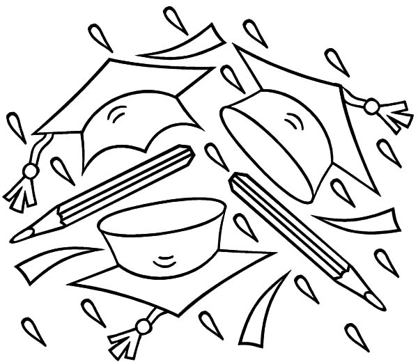 2015 Graduation Pages Printables Coloring Pages