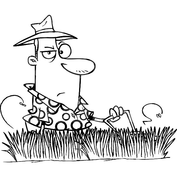 Tall Grass Pages Coloring Pages