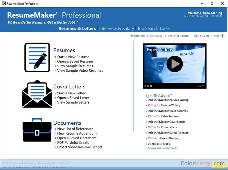 resume maker professional deluxe
