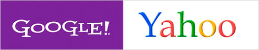 Yahoo and Google