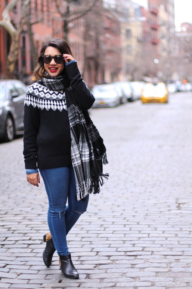 fair isle sweater fair-isle sweater fairisle sweater fair isle how to wear fair isle wear fair-isle fair-isle sweater old navy fair-isle sweater black fair-isle sweater black fashion blogger fashion blogger fashion blogger to follow fashion blogger nyc new york fashion blogg