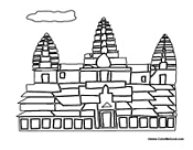 ndien tempe Colouring Pages