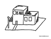 Government Buildings Coloring Pages