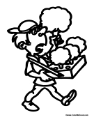 Wrapper Coloring Pages