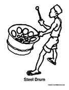 Steel Drum Percussion