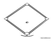 Baseball Diamond Template Cake Ideas and Designs