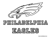 philadelphia eagles coloring pages # 69