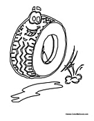 Mechanics and Parts Coloring Pages