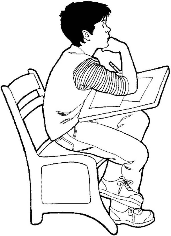 Printable Coloring Pages For The First Day Of School
