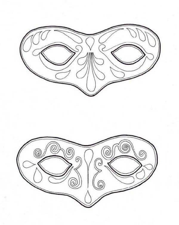 Mardi Gras, : Couple of Mask to Wear on Mardi Gras