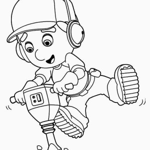 The Astronaut on the Outer Space Mission Coloring Page