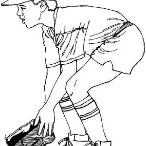 Baseball Coloring Page: Baseball Coloring Page