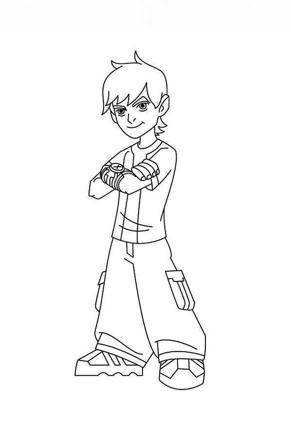 Cartoon Network Coloring Pages Ben 10