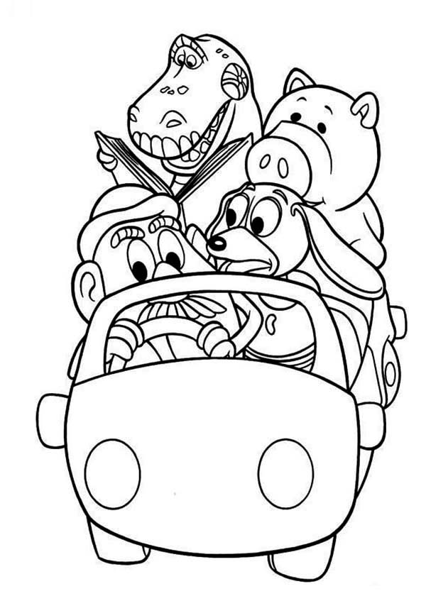 Grocery Gang Coloring Pages Coloring Pages