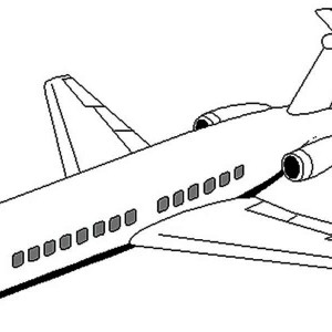 Cargo Plane Coloring Page Coloring Pages