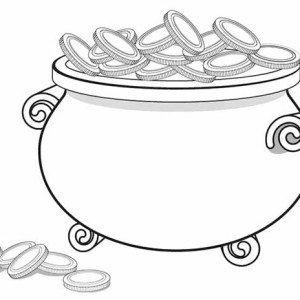 Pot Of Gold Coloring Pages. Free Leprechaun Coloring Pages Kids ...