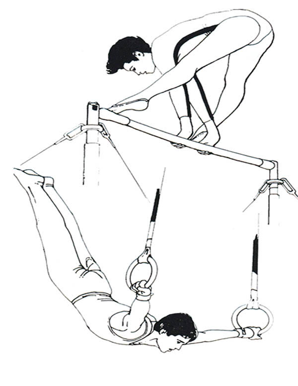 Uneven Bars Coloring Pages Printable. Uneven. Best Free