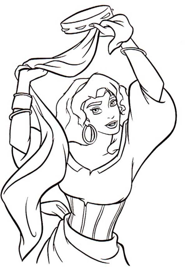 Fashion Model Body Coloring Pages
