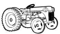Farm Tractor Coloring Page: Farm Tractor Coloring Page ...