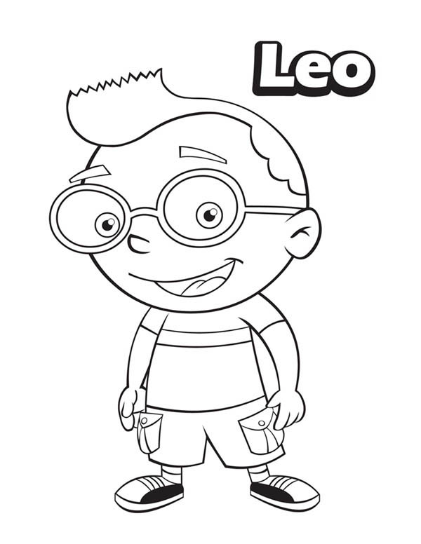 y leo Colouring Pages