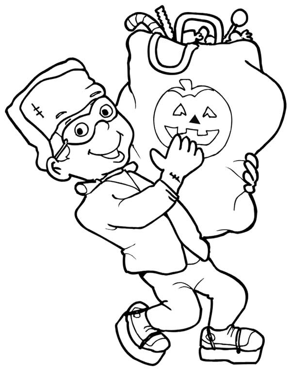 Bag Of Sugar Coloring Page Coloring Pages
