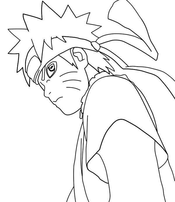 Naruto Manga Coloring Page Download Amp Print Online