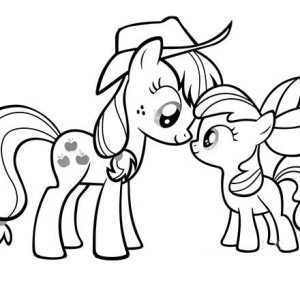 Lovely Pinkie Pie in My Little Pony Coloring Page: Lovely