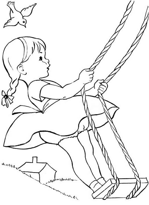 Pin Swing-sets-colouring-p on Pinterest