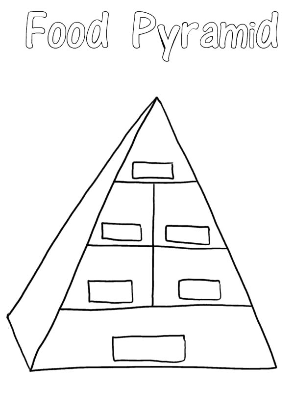 pyramid diagram for powerpoint with 5 levels
