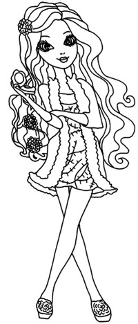Curls Coloring Pages Coloring Pages