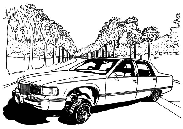 Modified Car Coloring Pages. Diagram. Wiring Diagram Images