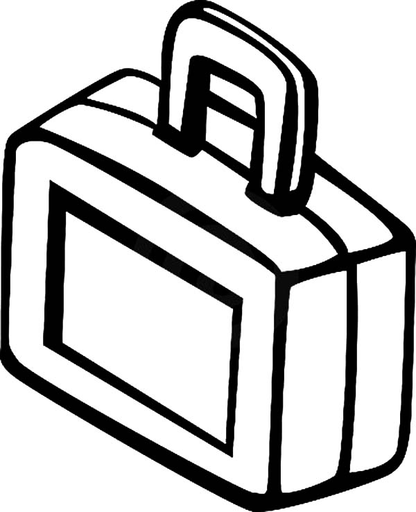 Lunch Box Coloring Page Coloring Pages