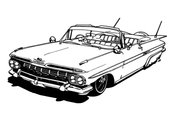 The Lowrider Coloring Cake Ideas and Designs