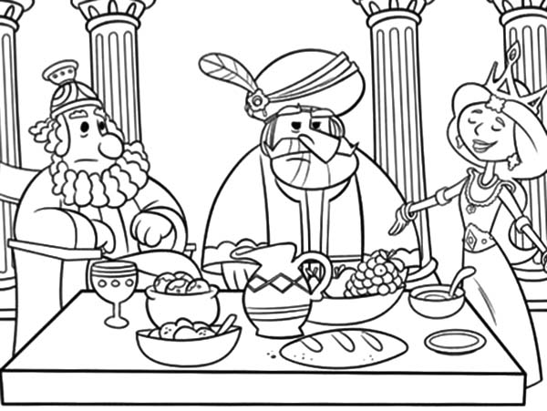 Esther : Queen Esther the of Persia Coloring Pages, Queen