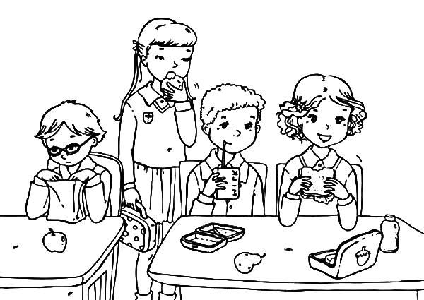 Lunchbox : Opening Lunchbox Coloring Pages, Mysterious