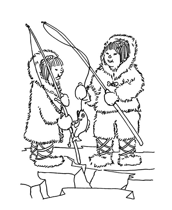 climbing girl coloring page