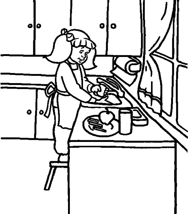 show bread table coloring pages