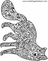 Animal Coloring Pages Stress Relief Coloring Pages