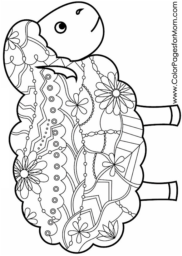 Animals 86 Advanced Coloring Page