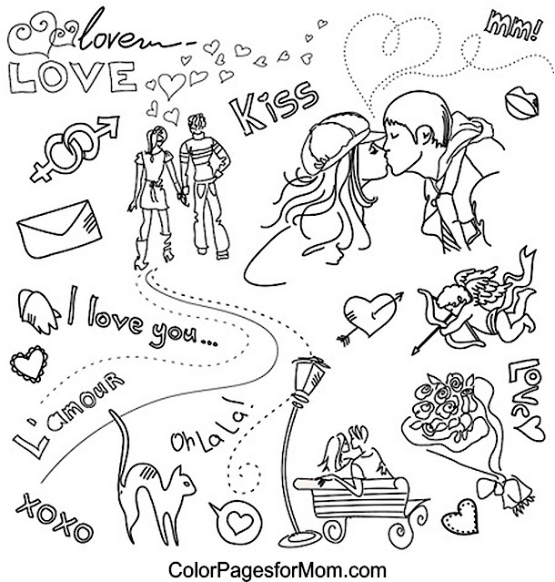 Doodles 9 Advanced Coloring Page