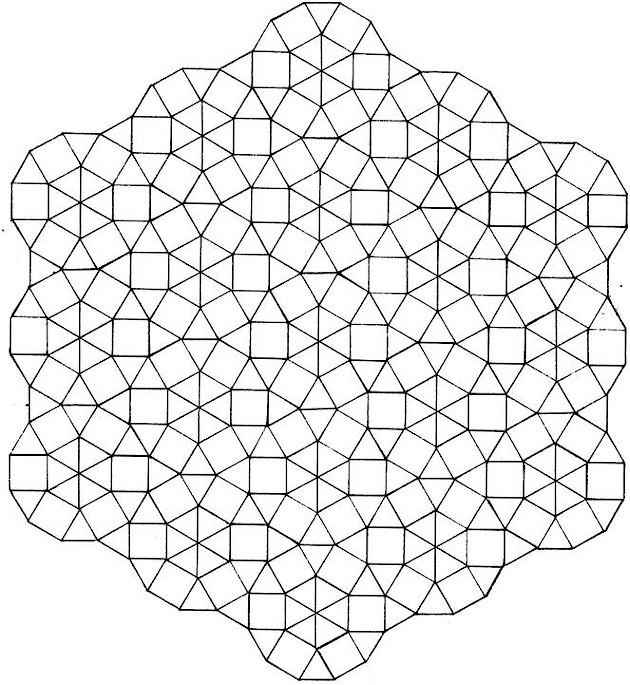 GEOMETRIC PATTERNS TO COLOUR « Patterns