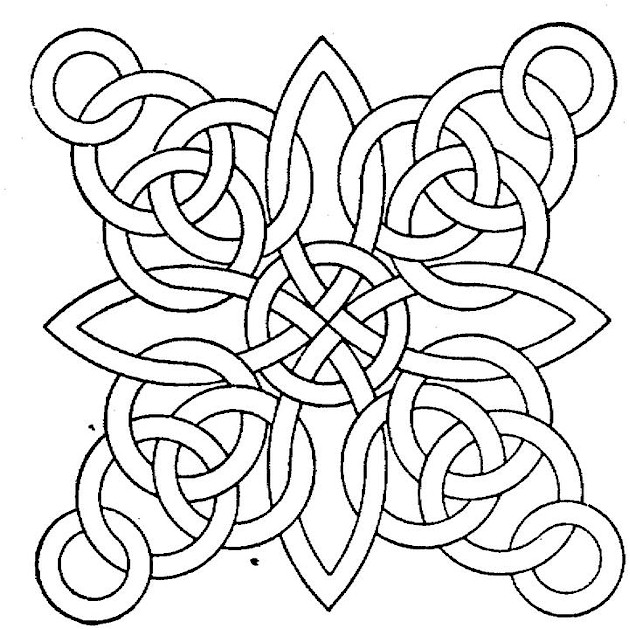 GEOMETRIC ART COLORING PAGES « Free Coloring Pages