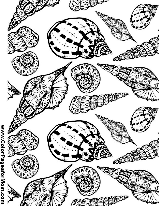 Vacation Coloring Page 49