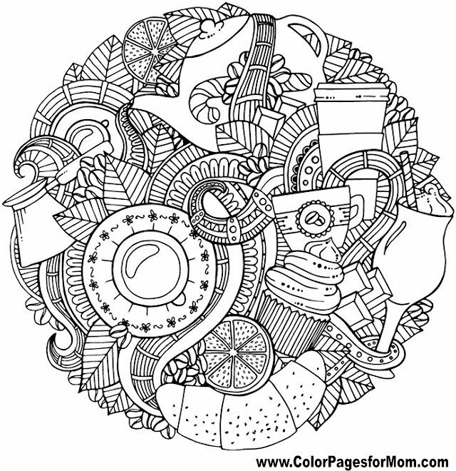 Vacation Coloring Page 50