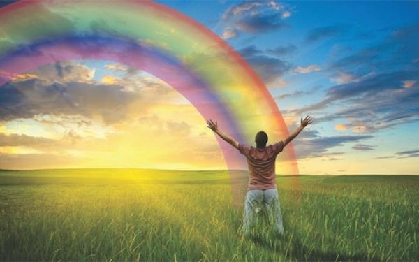 Significado del aura arco iris